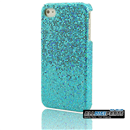 New Bright Blue Bling Shining Case Skin Cover for iPhone 4 4G 4S
