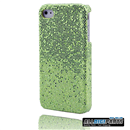 New Bright Green Bling Shining Case Skin Cover for iPhone 4 4G 4S