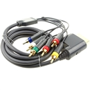 6FT Gold Plated HDTV Component Composite Audio Video AV Cable for Xbox 360
