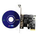 2 Port SATA 3.0 to PCI-e Express Card ASM1061 Chipset