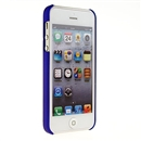 Deluxe Blue with Chrome Hole Snap-on Hard Cover Case for Apple iPhone 5 5G iPhone5 New