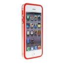 Red Clear Bumper Frame TPU Silicone Soft Case Cover for the New iPhone 5G 5 iPhone5