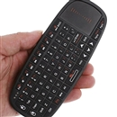 Rii 2.4GHz Mini i10 Wireless Keyboard with Touchpad Laser Pointer HTPC PS3 XBOX360 Black