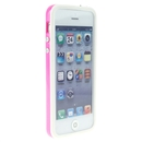 White Pink Bumper Frame TPU Silicone Soft Case Cover for the New iPhone 5G 5 iPhone5