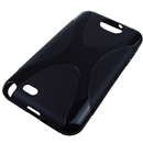 Black X-Line Curve TPU Gel Case Cover For Samsung Galaxy Note II 2 N7100