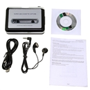 New Tape to PC USB Cassette-to-MP3 Converter Capture Audio Music Player