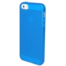 Clear Frost Blue Skin Gel TPU Soft Rubber Case Cover for Apple iPhone 5 5G 5th Gen