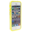 Yellow Clear Bumper Frame TPU Silicone Soft Case Cover for the New iPhone 5G 5th Gen