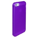 Clear Frost Purple Skin Gel TPU Soft Rubber Case Cover for Apple iPhone 5 5G 5th Gen