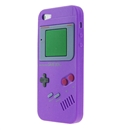 Purple Nintendo Game Boy Silicone SOFT Case for Apple iPhone 5 5G Gen
