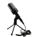 Professional Podcast Studio Microphone with Stand Skype Webcast Youtube Video