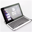 Aluminum Bluetooth Keyboard Dock Case for Samsung Galaxy Tab 10.1 P7500 P7510
