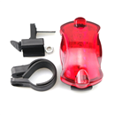 Bike Bicycle 5 Red LED Safety Rear Light