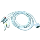 6FT USB TV RCA Audio Video Composite AV Cable to Ipod Adapter for iPad iPhone