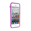 Purple Clear Bumper Frame TPU Silicone Soft Case Cover for the New iPhone 5G 5 iPhone5