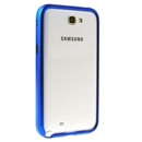 Blue Aluminum Metal Frame Bumper Case Cover for Samsung N7100 Galaxy Note 2