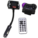 Car Steering Wheel Bluetooth FM Transmitter Modulator USB/SD MP3 Player Kits