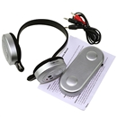 Hi Fi Wireless Headphone Headset Earphone FM Radio CD For Laptop PC DVD MP3 TV