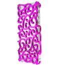 Pink Hollow Out light Thin Case Cover Skin For Apple iphone 5 5G 5th