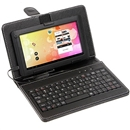 Mini USB Keyboard Leather Case Protective for 7 inch 7