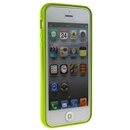 Green Thin TPU Bumper Frame Skin Case with Clear Back Cover For iPhone 5 5G 5th Gen
