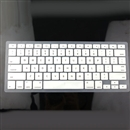 Silver Silicone Keyboard Cover Skin for Apple Macbook MAC 13
