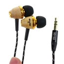 Awei ES-Q5 In Ear Earphone for iPhone 3GS 4 4S 5 iPod Touch Special Wood Design