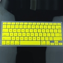 Yellow Silicone Keyboard Cover Skin for Apple Macbook MAC 13