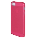 Clear Frost Red Skin Gel TPU Soft Rubber Case Cover for Apple iPhone 5 5G 5th Gen
