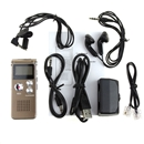 New Steel 8GB Digital Voice Recorder 650 Hours Dictaphone MP3 Player VOR Rechargeable