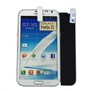 Clear LCD Screen Protector Shield For Samsung Galaxy Note 2 II N7100
