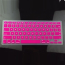 Hot Pink Silicone Keyboard Cover Skin for Apple Macbook MAC 13