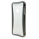 Gray Push-pull Aluminum Metal Skin Frame Bumper Case cover for Apple iPhone 5 5G New