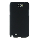 Black Hard Back Cover Case for Samsung Galaxy Note 2 II N7100
