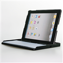 Separable Bluetooth Keyboard+Case Cover  for iPad 2 3 Black