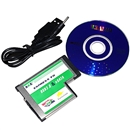 Hidden USB 3.0 eSATA II 2.0 Combo to Express Card ExpressCard 54 54mm Adapter