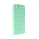 Green Wave Back Soft Silicon Case Cover for Apple iPhone 5 5G New