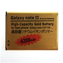 3.7V 4200mAh Replacement Back Up Battery for Samsung N7100 Galaxy Note 2 II