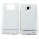 TPU Case for Samsung Galaxy S 2 i9100 3500mAh Extended Battery White