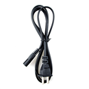 New US Power Cord 2-Prong
