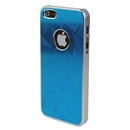 Ultra-thin Aluminum Metal Blue Hard Back Case Cover Skin for Apple iPhone 5 6th