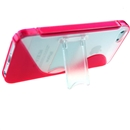 Red S-Line TPU Bumper Case Skin Cover with Stand For Apple iPhone 5 5G Gen