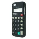 Black Calculator Style Silicone Soft Case Cover for Apple iPhone 5 5G Gen