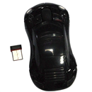 2.4GHz Black Car Shape Wireless Optical Mouse Mice for PC Laptop