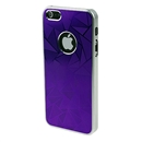 Ultra-thin Aluminum Metal Purple Hard Back Case Cover Skin for Apple iPhone 5 6th