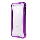 Purple Push-pull Aluminum Metal Skin Frame Bumper Case cover for Apple iPhone 5 5G New