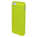 Clear Frost Yellow Skin Gel TPU Soft Rubber Case Cover for Apple iPhone 5 5G 5th Gen