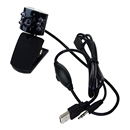 USB 30.0M 6 LED Webcam Camera Web Cam With Mic for Desktop PC Laptop