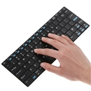 Ultra-Slim Wireless Bluetooth Keyboard Rii Mini For PC HDPC TV laptop Black
