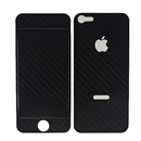 Black Carbon Fiber Skin Cover Case Protector for Apple iPhone 5
